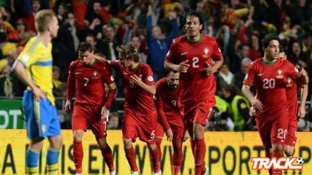 رونالدو يقود البرتغال لحسم الفصل الأول من مواجهة السويد