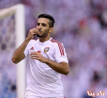 متعب بن عبدالله يتصل هاتفياً باللاعب الإماراتي علي مبخوت لشكره وتهنئته