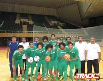 أخضر الصالات يواجه الإمارات في المعسكر