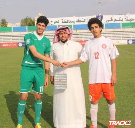 لاعب نادي الشرق السويلم لايوجد لاعب في الخرج يحمل فكر الإيذاء وأسف ياصالح الغليط