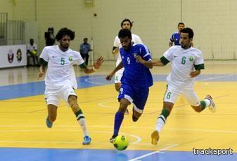 أخضر الصالات يخسر من الكويت ويتراجع للوصافة