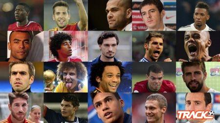 ترشيح عشرون مدافعاً لجائزة FIFA/FIFPro World XI لعام 2013
