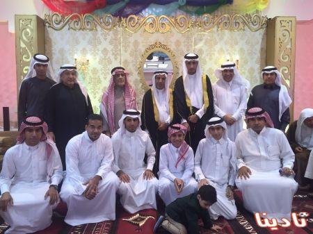 عائله الدواني تحتفل بزواج ابنهم في ليله فرح وسرور على كريمه جاسم الهزيم