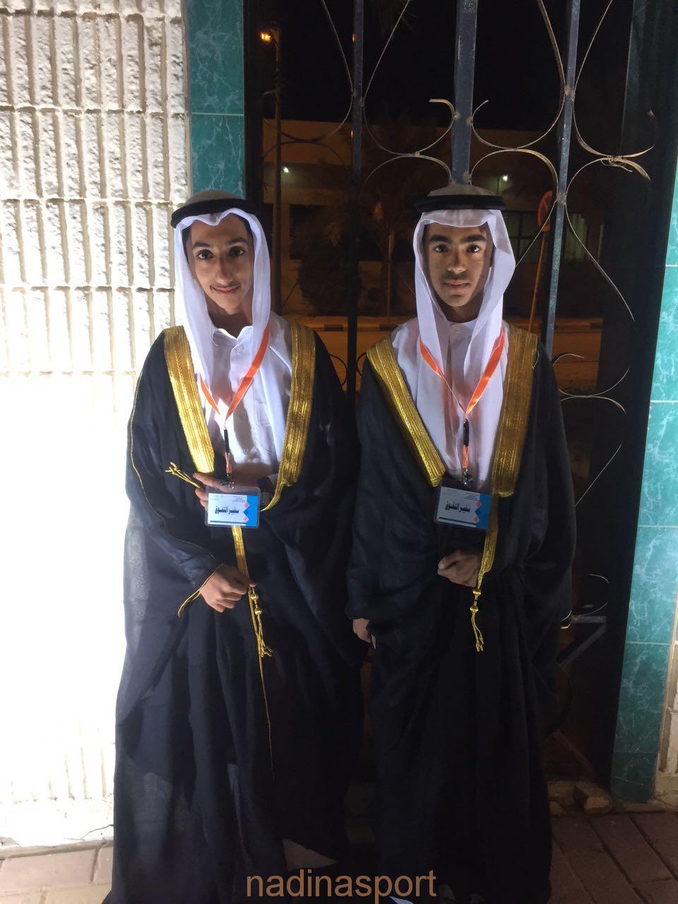 الطالب عبدالملك الاحمد يكرم وسط حضور شخصيات كبيرة