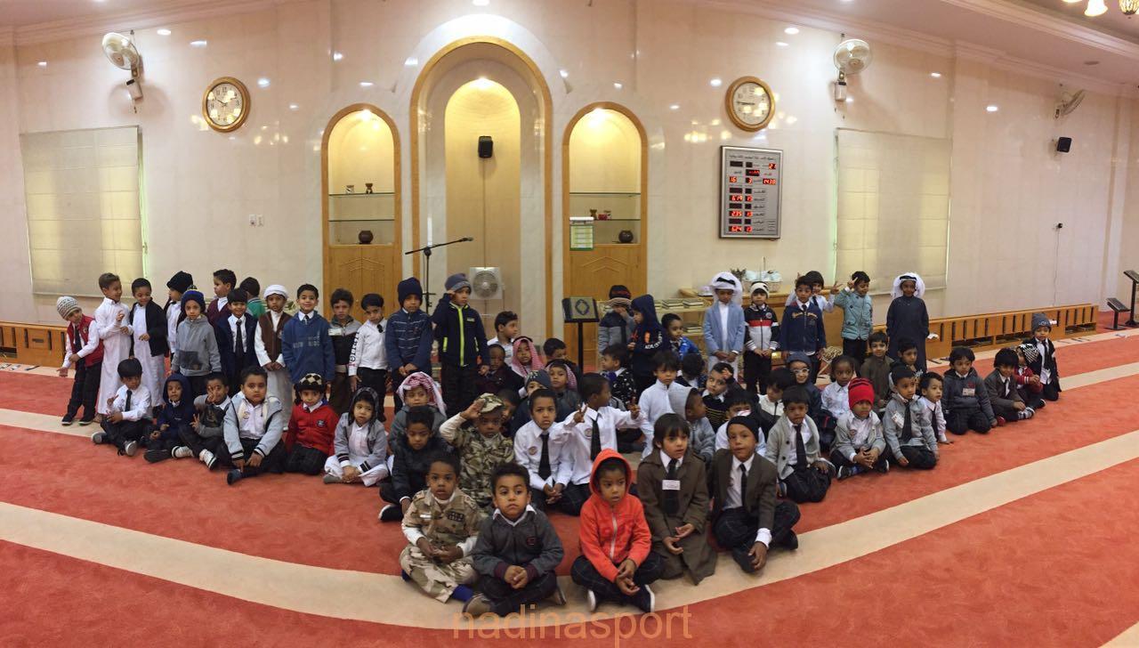 اطفال روضة جمعية الطرف في بيوت الله