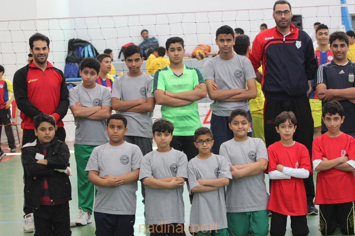 190 برعم يشارك في مهرجان الكرة الطائرة للبراعم بنادي الترجي