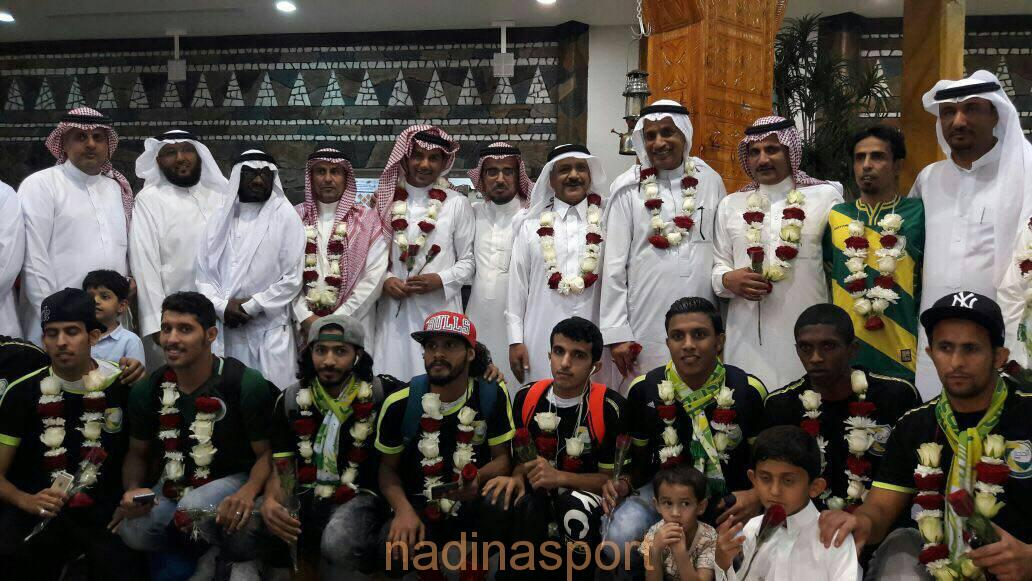 نادي الحجاز يحقق حلم الإنجاز بأضعف الامكانات و بدون منشآت جاهزة