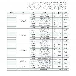 جدول مباريات بطولة الأمير عبدالله بن سعد