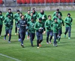 الأخضر الشاب يصل إلى الرياض و STC تحتفي بالبعثة