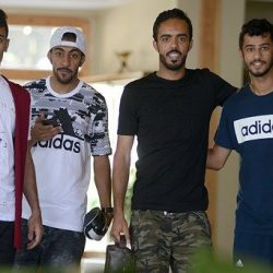 جمال بن العمري يغيب عن مران الشباب