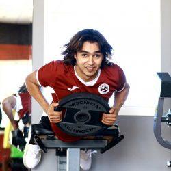 الفيصلي يواصل تدريباته على ملعب النادي بحرمة