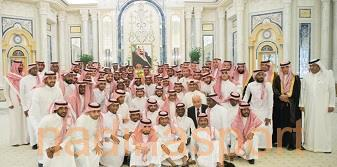 الملك سلمان يستقبل رئيس وأعضاء الاتحاد السعودي