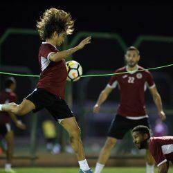 هجر يجري مرانه الرئيسي استعداداً لمباراته أمام الحزم الثلاثاء المقبل