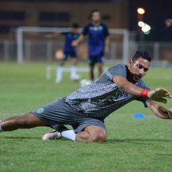 بالصور.. هجر ينهي استعداته لمباراته غداً أمام الحزم
