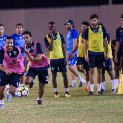 النصر ينهي استعداداته لأحد .. والسهلاوي والشهري ينضمان لبعثة الفريق