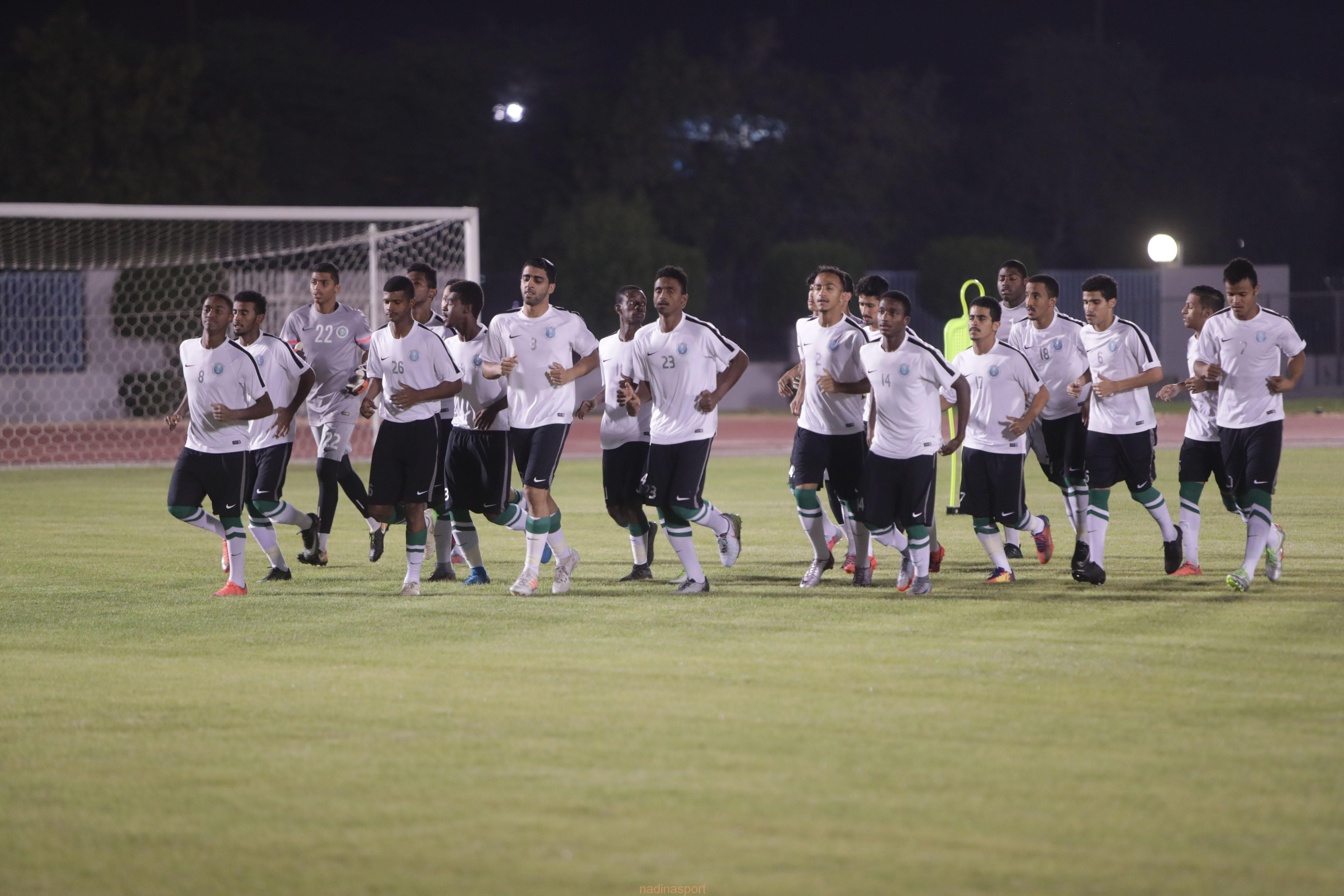 الأخضر الشاب يواجه اليمن في آخر مباريات التصفيات غداً الاربعاء