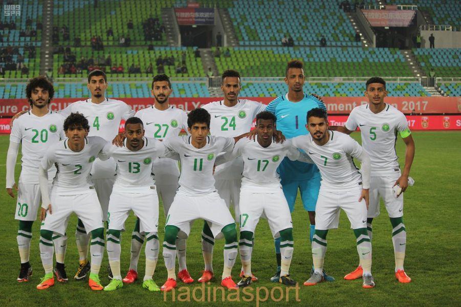 المنتخب السعودي الأولمبي لكرة القدم يفوز على نظيره الصيني 2 – 1 في الدورة الدولية الودية للشباب