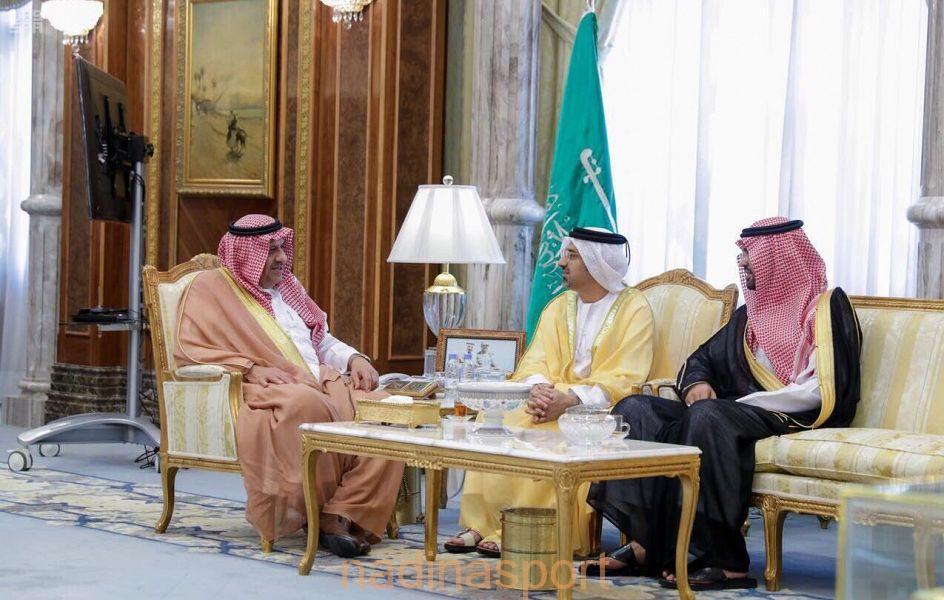 الأمير خالد بن سلطان يستقبل رئيس الاتحاد الدولي لسباقات الخيل العربية