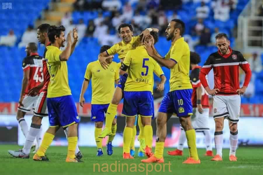 النصر يكسب الرائد بخمسة أهداف دون مقابل في الدوري السعودي للمحترفين