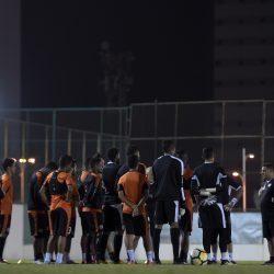 النصر يستأنف تدريباته على ملعب النادي .. ويحتفل بفوزير ولكرو