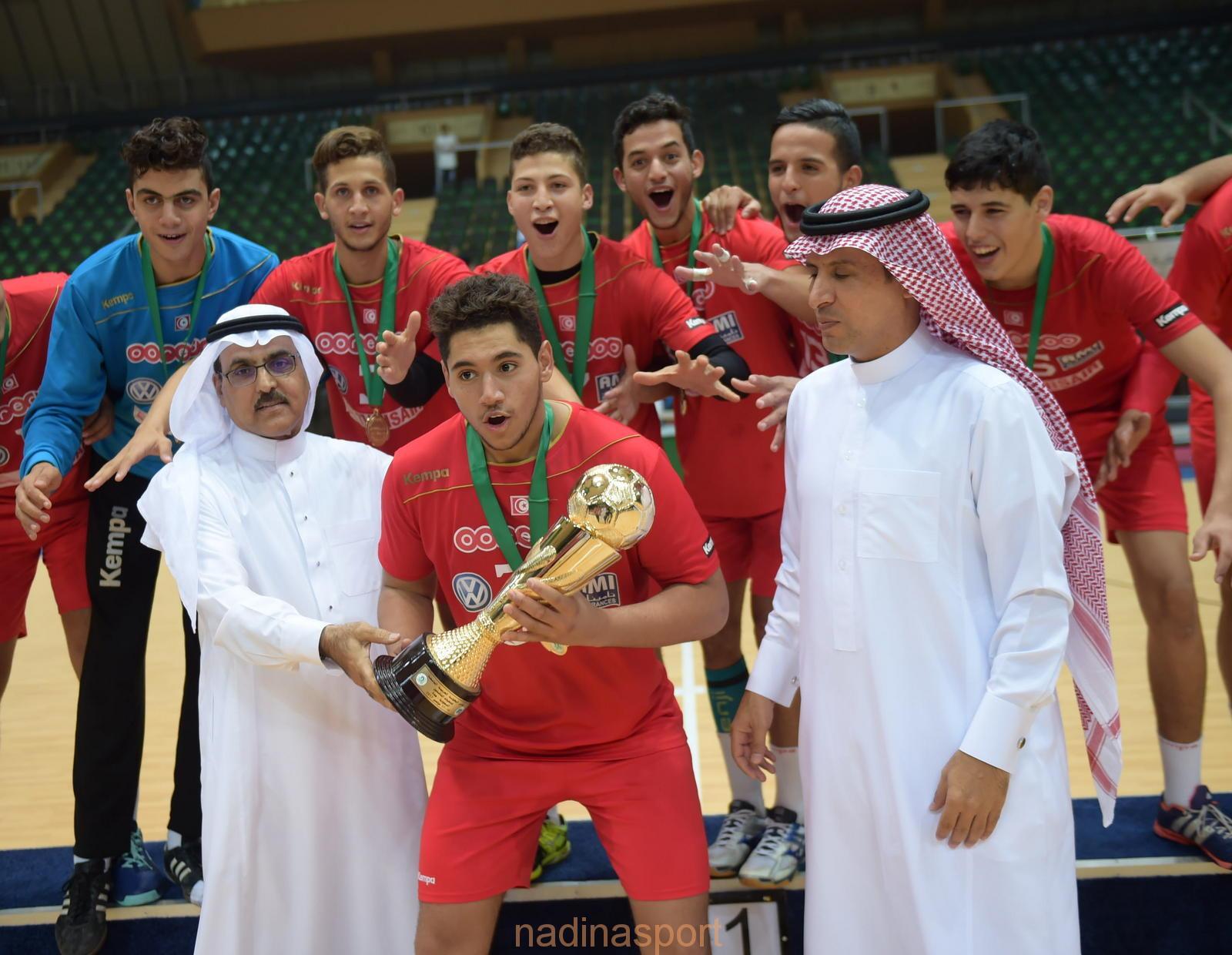 تونس تتوج باللقب العربي للمرة الثالثة