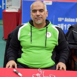 مدير المنتخب محمد القرشي