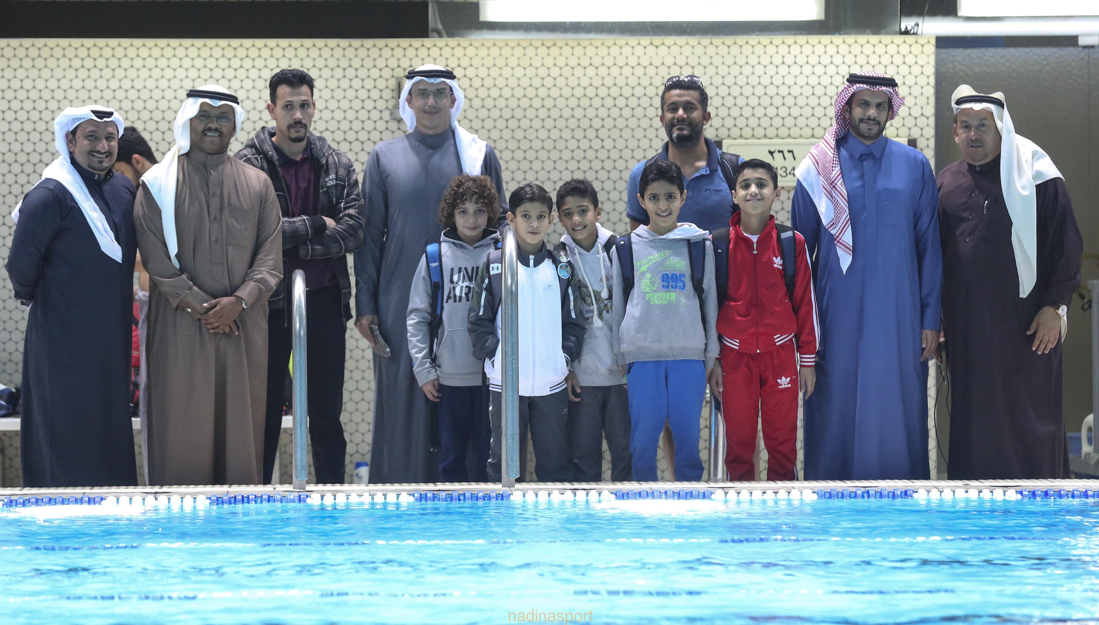 مستقبل سباحة السعودية يواصلون معسكر الرياض