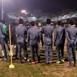 الأخضر الأولمبي يصل كونشان استعداداً لمواجهة ماليزيا