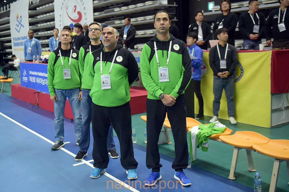 قبضة الأخضر تنافس كوريا وعمان وايران للتأهل للمونديال