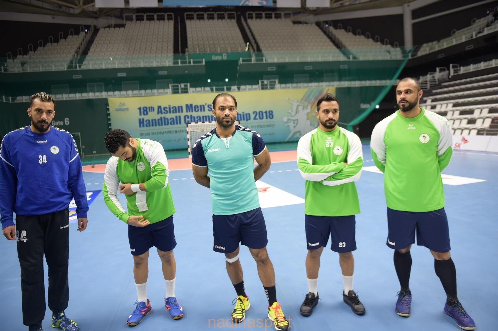 أخضر اليد يرفع وتيرة الاستعداد للتصفيات الآسيوية المؤهلة لكأس العالم
