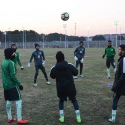 الأخضر الأولمبي يختتم استعداداته لمواجهة العراق غداً