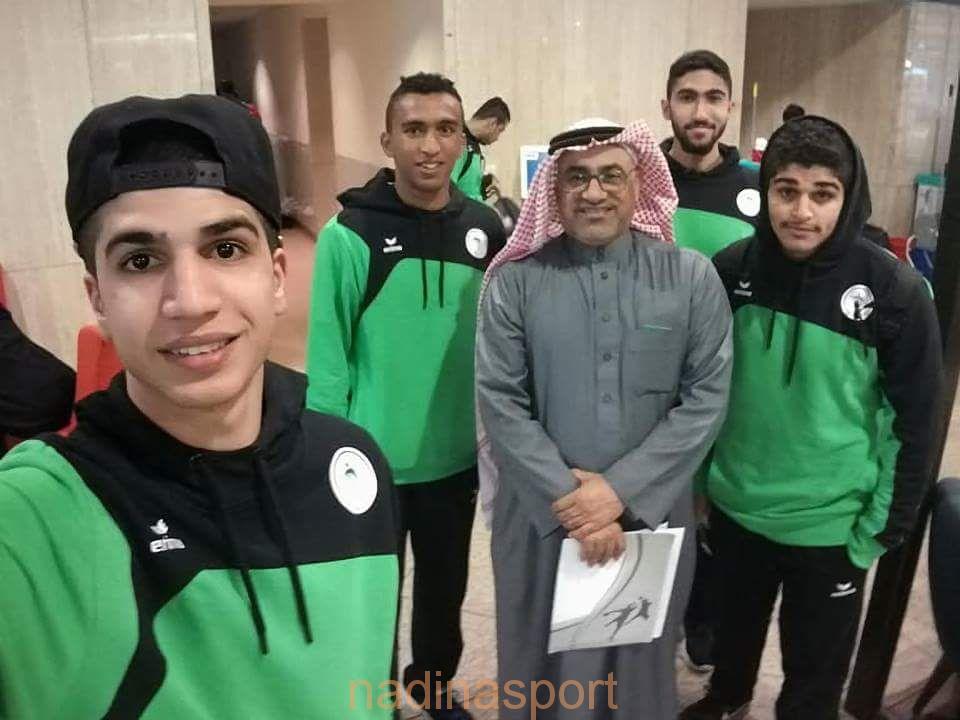 شباب قبضة الأخضر يعسكرون في مصر