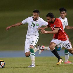 الأخضر الأولمبي يخسر ودياً من المنتخب المصري