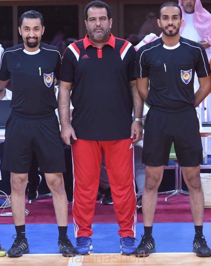 الحكمان «الصقر والسقوفي» يشاركان في البطولة الدولية بباكستان