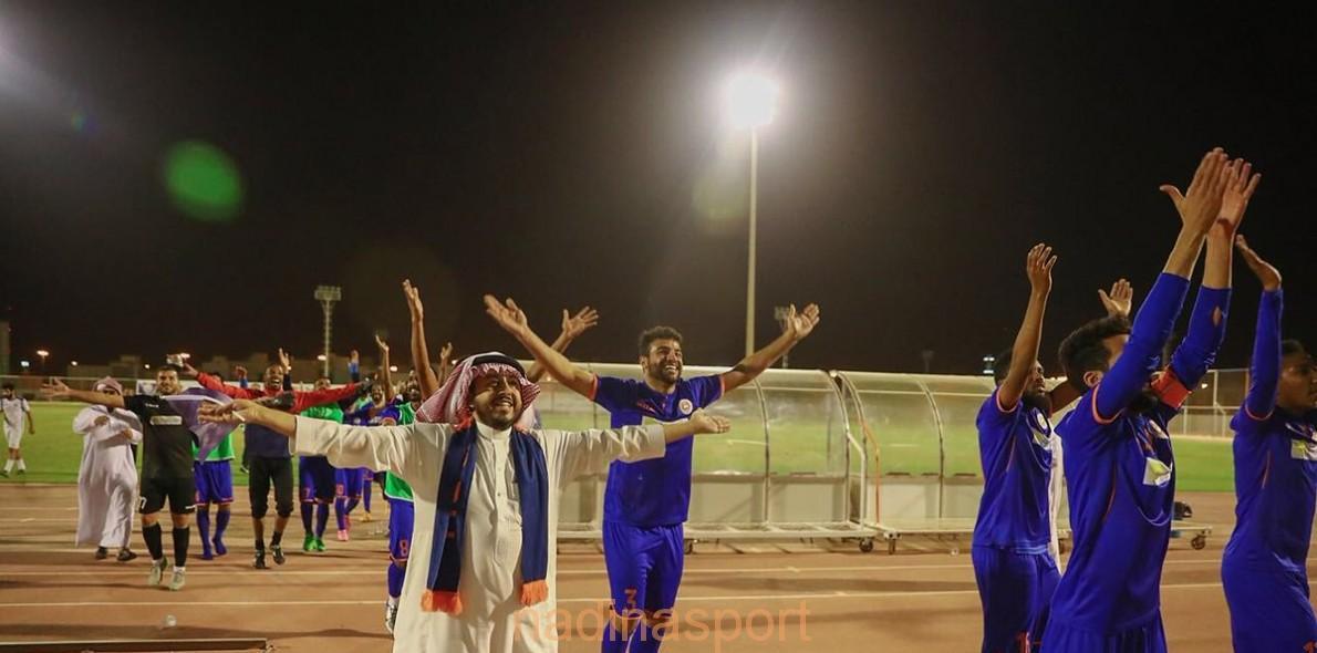فريقا الجبلين والوشم يتأهلان إلى دوري الأمير محمد بن سلمان لأندية الدرجة الأولى