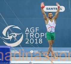 لاعب المنتخب السعودي جعفر الصايغ يتأهل إلى نهائي بطولة العالم للجمباز