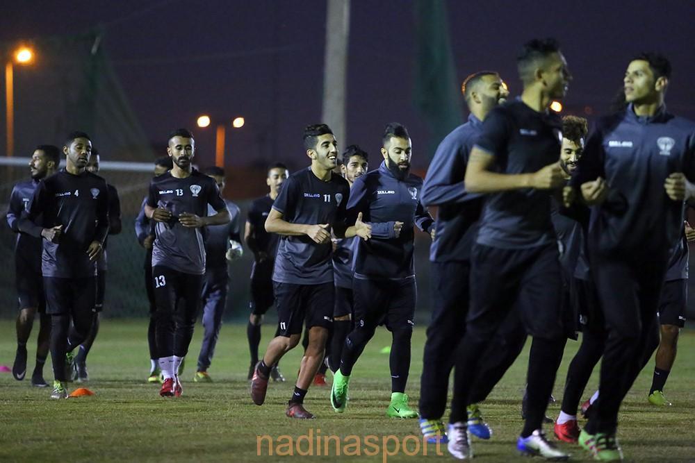 هجر يواصل مرانه الرئيسي استعداداً لمباراته المقبلة أمام نجران