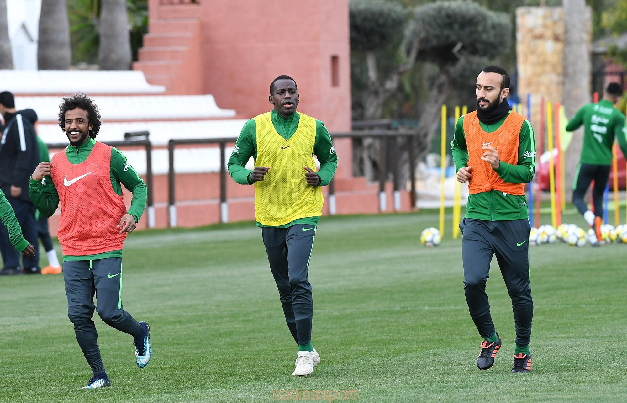المنتخب السعودي الأول يواصل تدريباته في ماربيا الأسبانية