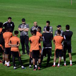 الاتحاد يستأنف تدريباته بمشاركة التشيلي فيلانويفا