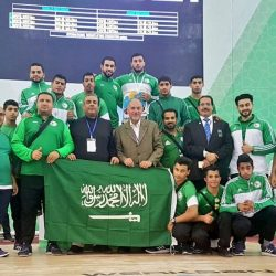تدشين الطائرة الخاصة للمنتخب السعودي الأول لكرة القدم