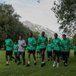 الأخضر يفتتح تدريباته بسويسرا في ختام استعداداته لكأس العالم 2018