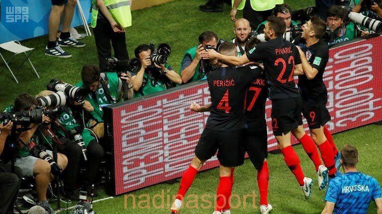 كأس العالم 2018 : كرواتيا إلى النهائي للمرة الأولى لتلاقي فرنسا الأحد القادم