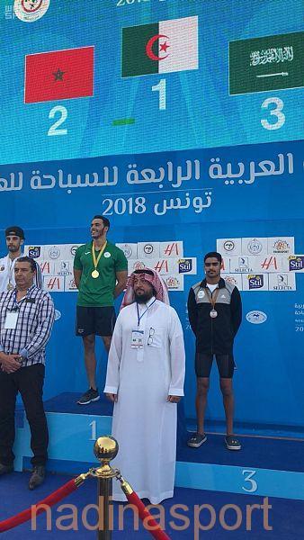 بو عريش يحقق برونزية العربية ويتأهل لأولمبياد الأرجنتين
