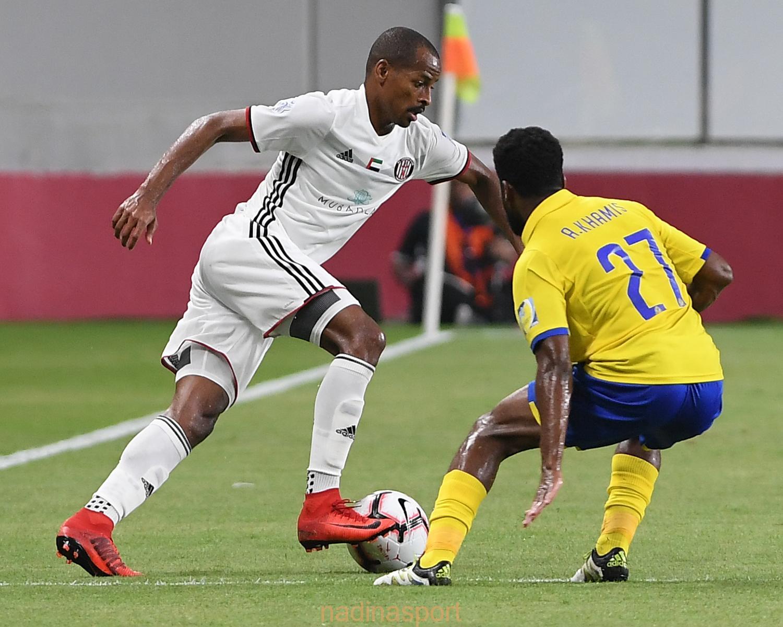 النصر السعودي يتفوق على الجزيرة الإماراتي بهدفين مقابل هدف