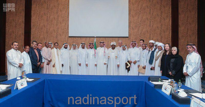 تأسيس اتحاد دولي للهجن في الرياض وانتخاب الأمير عبدالعزيز بن تركي الفيصل رئيسًا له