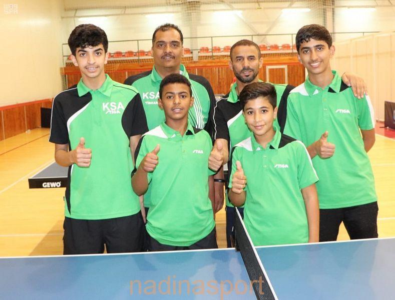 المنتخب السعودي لكرة الطاولة يتأهل إلى دور الثمانية في دولة صربيا