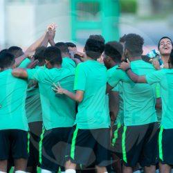 هتان باهبري يعود لمعسكر المنتخب والأخضر يواصل استعداداته لودية بوليفيا