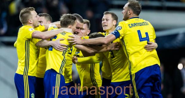 السويد تفقد أبرز نجومها في مباراة دوري أمم اوروبا