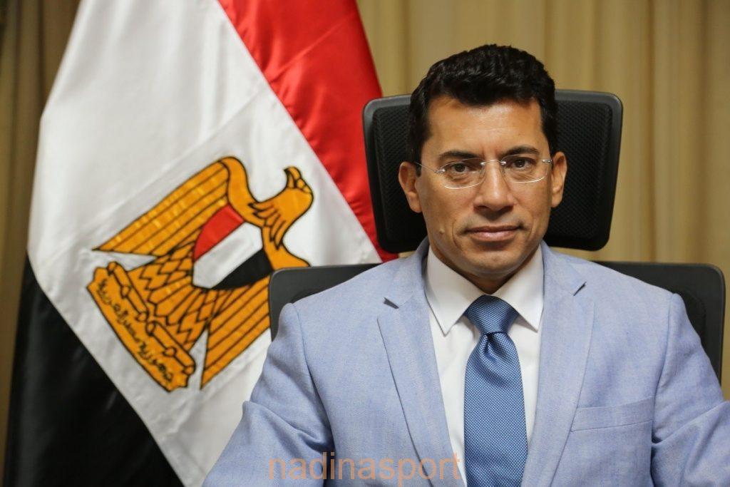 وزير الرياضة المصري يتحدث في ندوة دبي الدولية للإبداع الرياضي