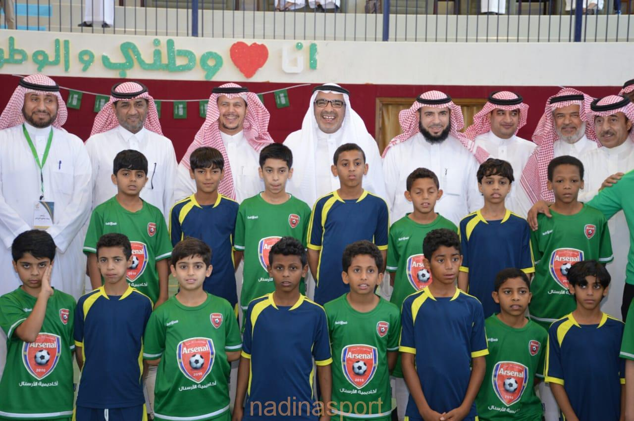 """منتخب تعليم الرياض""""لكرة القدم""""يتوج بطلا لنهائي مهرجان الرياضة المدرسية الثالث للصغار"""